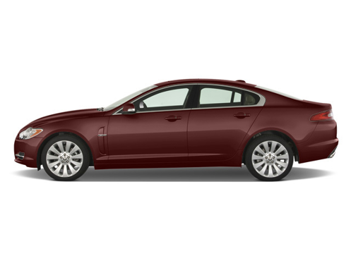 Slide 1 of 38: 2009 Jaguar XF