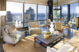 Mandarin Oriental Hotel in New York.