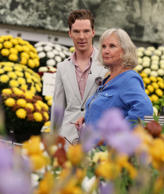 Benedict Cumberbatch with his mother Wanda Ventham