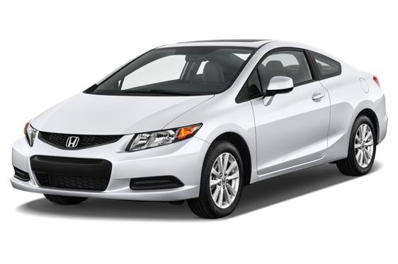 Slide 1 of 14: 2012 Honda Civic Coupe
