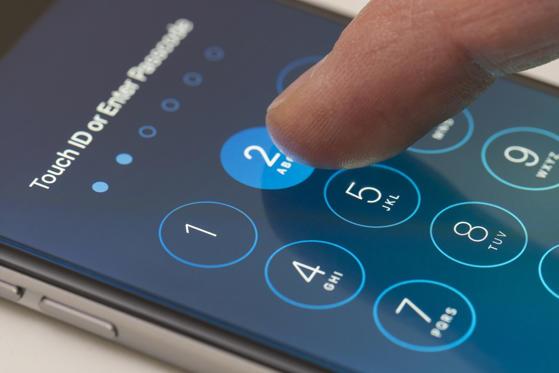 Diapositive 21 sur 32: Protégez votre téléphone avec un mot de passe
