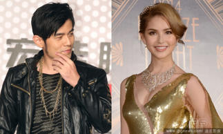 Jay Chou and Hannah Quinlivan: They got married in January and announced the birth of a daughter on July 10.