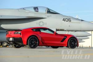 Chevrolet Corvette Z06 at our 0-180 MPH Ultimate Performance Shootout
