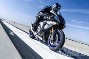 Yamaha YZF-R1M at our 0-180 MPH Ultimate Performance Shootout