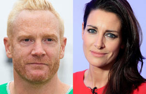 Iwan Thomas and Kirsty Gallagher