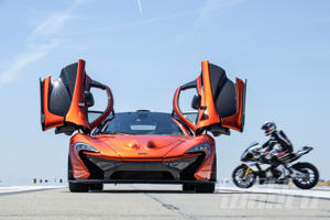 McLaren P1 at our 0-180 MPH Ultimate Performance Shootout