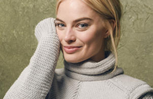 Margot Robbie enjoys the occasional cold one.