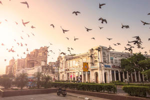 Connaught Place, New Delhi, India - CNGLTRV1109