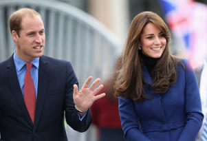 Catherine, Duchess of Cambridge and Prince William, Duke of Cambridge  in Dundee, Scotland.