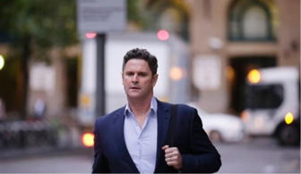 Former New Zealand cricketer Chris Cairns arrives at Southwark Crown Court