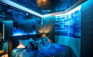 Star Trek room at Sheraton hotel in Sao Paulo, Brazil.