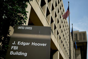 The J. Edgar Hoover Federal Bureau of Investigation (FBI) building stands in Washington, D.C.