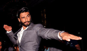 Ranveer Singh's crazy rap song for Gully Boy