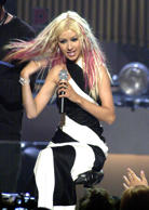 Various Christina Aguilera Performing On Her CBS TV Special, Christina Aguilera, MY REFLECTION, 2000 - Los Angeles, CA - 2000