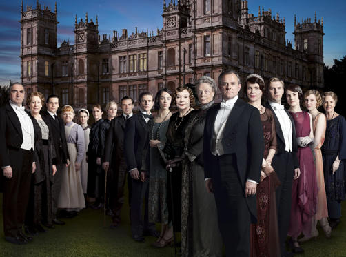 Lysbilde 1 av 37: The cast of Downton Abbey in real life