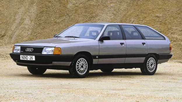 Boasting the most effective aerodynamics of any production car, lightweight construction, flush-glazed side windows and the option of four-wheel drive, the Audi 100 was an understated trailblazer of its day.