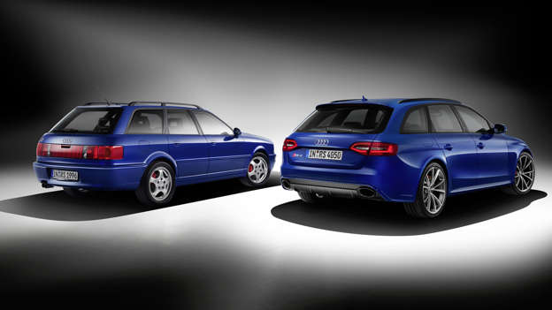 Choosing the best Audi RS4 will always be tough. The first RS4 was introduced in 1999 and was seen as a successor to the RS2 (seen here on the left). We'd probably take a B8 Avant (2012-2015) or B7, which was available in saloon, estate and cabriolet form.
