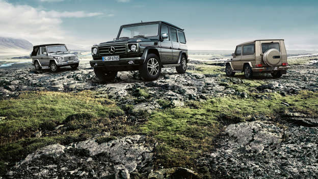 The Mercedes-Benz G-Wagen is the German equivalent of a Land Rover Defender, with a very high price tag. Development started back in 1972, with initial work taking place at Steyr-Daimler-Puch in Austria.