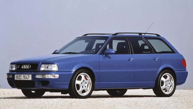 When you build the fastest estate car on earth, your place in the top 100 German cars of all time is secured. It may have looked like an Audi 80 Avant, but the RS2 was part Audi, part Porsche and 100% brilliant.