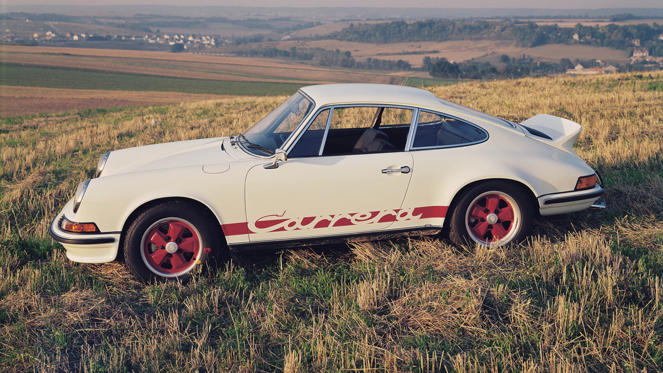 The first Porsche RS, and arguably the best of all. This homologation special sold out within weeks and, since first debuting in 1972, has wowed everyone who's driven one with its amazingly pure and intense drive. Oh, and delighted owners who've seen their investment skyrocket...