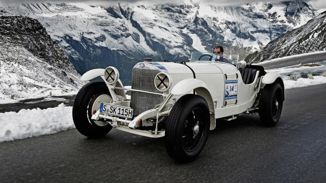 The SSK - which stands for Super Sport Kurz, German for Super Sport Short - was the last Mercedes-Benz designed by Ferdinand Porsche before he left to form his own company. In the late 1920s and early 1930s, this was the definitive sports car.