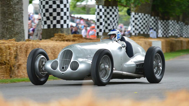 Dominant. That's a good word to describe the famous Mercedes-Benz Silver Arrows of the 1930s and 1950s, such as the legendary 1937 W125 pictured here.