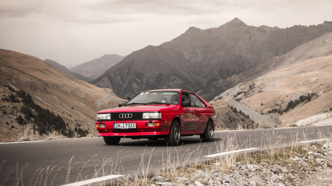 Fire up the quattro! Long before Gene Hunt was being politically incorrect in British show Ashes to Ashes, the Audi Quattro was cementing its reputation as a hero of the 1980s. It helped to make Audi what it is today and revolutionised four-wheel drive road cars.