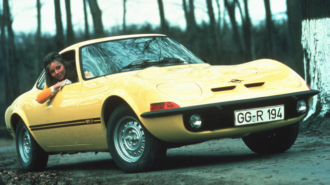 The Opel GT is arguably one of the prettiest cars ever to emerge from Germany. It had the styling of the Corvette, but was based on a lowly Opel Kadett.