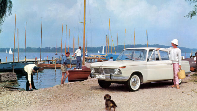 The BMW 1500 - and later 1800 and 2000 - transformed an ailing business and secured the future of the Bavarian firm. The 'Neu Klasse' or 'New Class' cemented BMW's reputation as a builder of sports saloons.