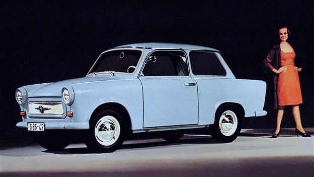 Sure, the Trabant was hardly a great car, but for millions of East Germans, it was a passport to mobility. When the Berlin Wall feel, thousands of these Duroplast-bodied two-stroke engined vehicles headed west.