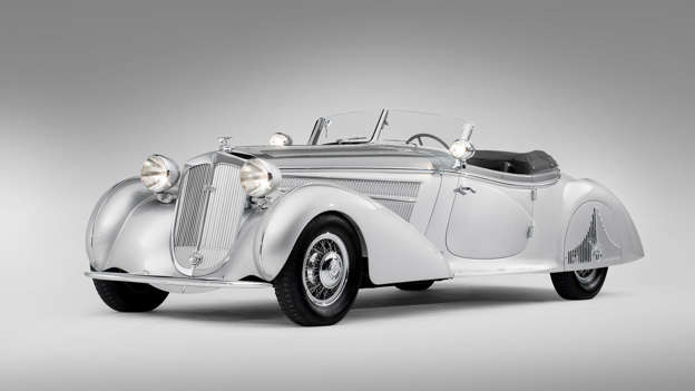 This stunning 1939 Horch 853A Special Roadster sold at the 2012 RM Auctions Monterey sale for a cool $5,170,000. August Horch was a former Benz employee who founded Horch & Cie in 1899.