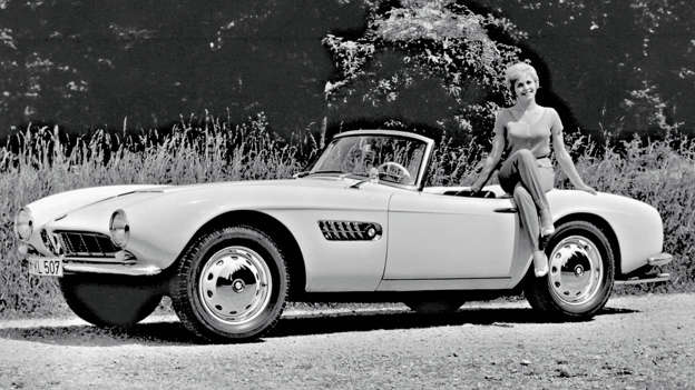You have our permission to spend your entire lunch hour gawping at the beauty that is the BMW 507. And once you've collected your jaw from the floor, feel free to turn to Bing for more images. #breaktheinternet