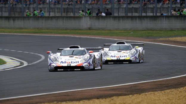 Porsche decided to go GT1 racing in the mid-1990s. It created a radical racer that shared a few bits with a road-going 911, but was otherwise a bespoke racer. Pesky rules mandated road-going models had to be built though: enter the ultra-rare, ultra-expensive Porsche 911 GT1 road car. The ultimate 911?