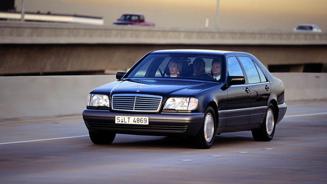 In the 1990s, the Mercedes-Benz S-Class was the ultimate in luxury and innovation. The list of technical highlights is as long as your arm. The S-Class truly was a vision of the future.