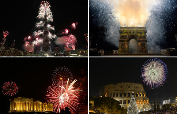 How to say Happy New Year around the world