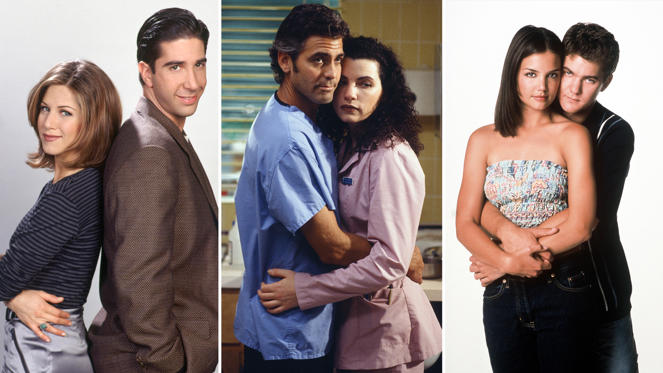 Slide 1 of 61: Famous TV couples: Where are they now?