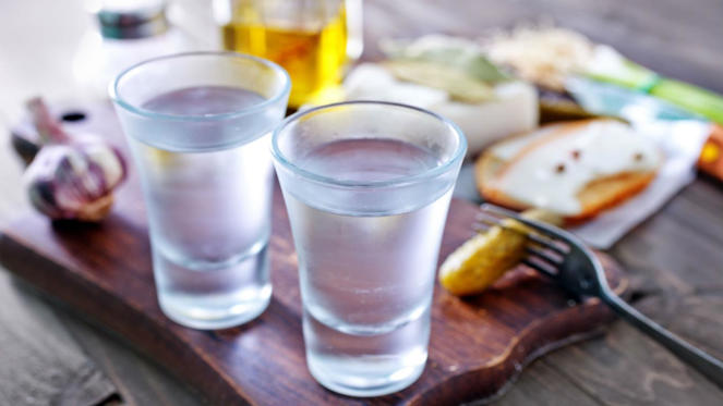 Russians drink very little wine (1.23 liters per person) compared to spirits (5.64 liters) – unsurprising given the country's reputation for fine vodka.
