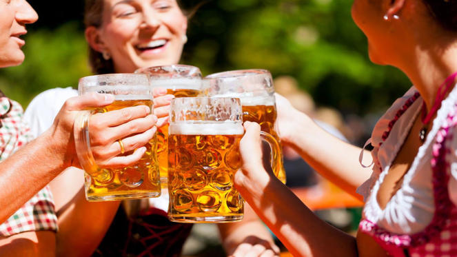 Germans have been drinking less and less each year over the past decade, apart from a slight jump in 2006. Beer is the most common tipple and Germans drink the third highest amount out of all the nations on the list.