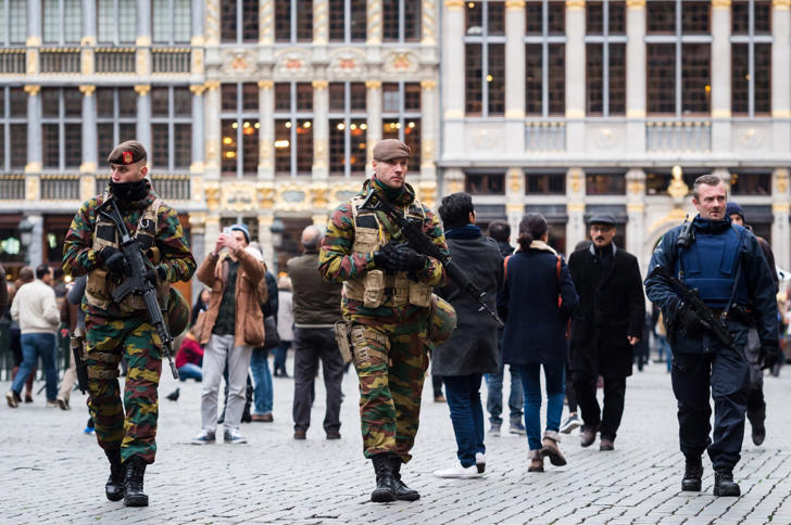 Brussels metro shut as Belgian capital put on maximum alert