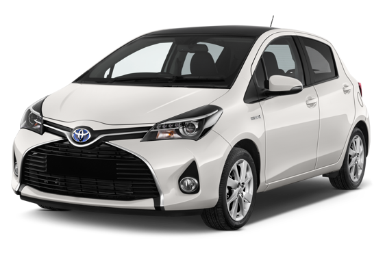 Slide 1 of 14: 2014 Toyota Yaris Hybrid