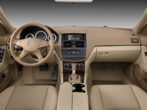 Slide 1 of 11: 2008 Mercedes-Benz C-class