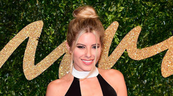 Mollie King at the British Fashion Awards