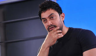 File: Bollywood actor Aamir Khan during the press conference for the promotion o...