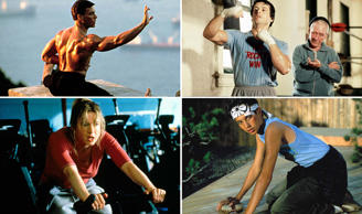 Get pumped! Best training scenes from films