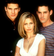 'Buffy the Vampire Slayer' TV Series 'Buffy the Vampire Slayer' - David Boreanaz...