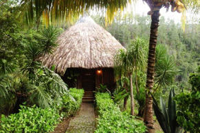 "<a href=""http://www.gaiariverlodge.com/""><strong>Gaia Riverlodge</strong></a><strong> (San Ignacio, Belize)</strong>An ecotourism destination that's well worth the trip, this secluded hideaway will leave you positively enchanted. You may not want to bother with ordinary swimming pools once you've gone for a dip in Gaia's natural spring, with its Kinkade-worthy waterfall backdrop. Luxurious thatched-roof cabanas blend in beautifully with the lush jungle foliage. You can bet the hotel restaurant serves only the best local cuisine and produce — there's a micro farm on the premises. ."