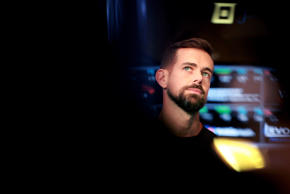 Jack Dorsey, chief executive officer of Twitter and Square Inc., listens during an interview on the floor of the New York Stock Exchange (NYSE) in New York, U.S., on Thursday, Nov. 19, 2015.