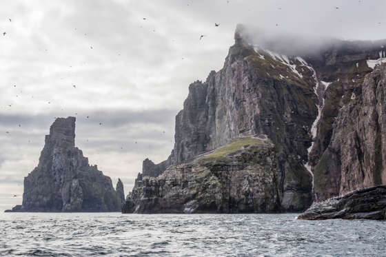 The Bear Island, or Bjørnøya, is one of the most remote islands in the world. Located in western part of Barents Sea, it was discovered by Dutch explorers in 1956. Legends say, the island was named after a polar bear that was swimming nearby. Apart from a handful of people who man the weather stations, there are no other inhabitants on the island.