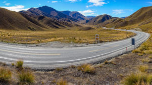 Lindis Pass in Cental Otago