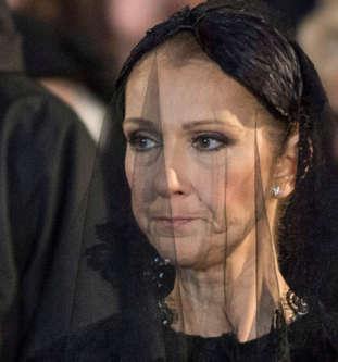 Funérailles aujourd'hui de René Angélil -époux de Céline Dion BBoBntD